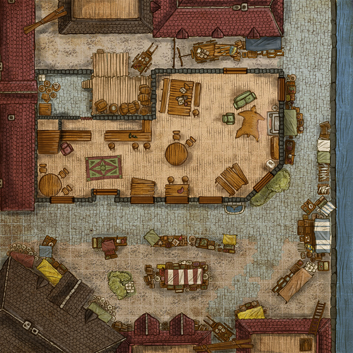 Maps Dungeon Channel