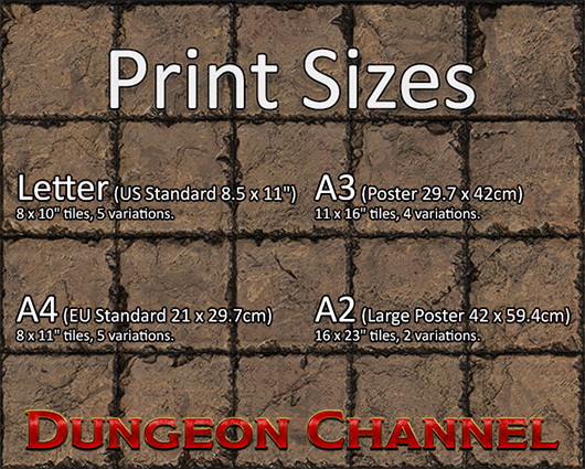 graphic relating to Printable Dnd Grid named Dungeon Tiles Printable Battlemat Giveaway Dungeon Channel